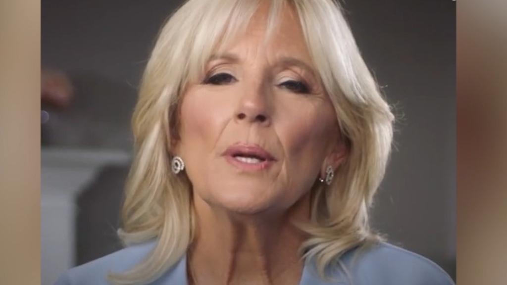 Jill Biden's heartfelt speech about husband Joe