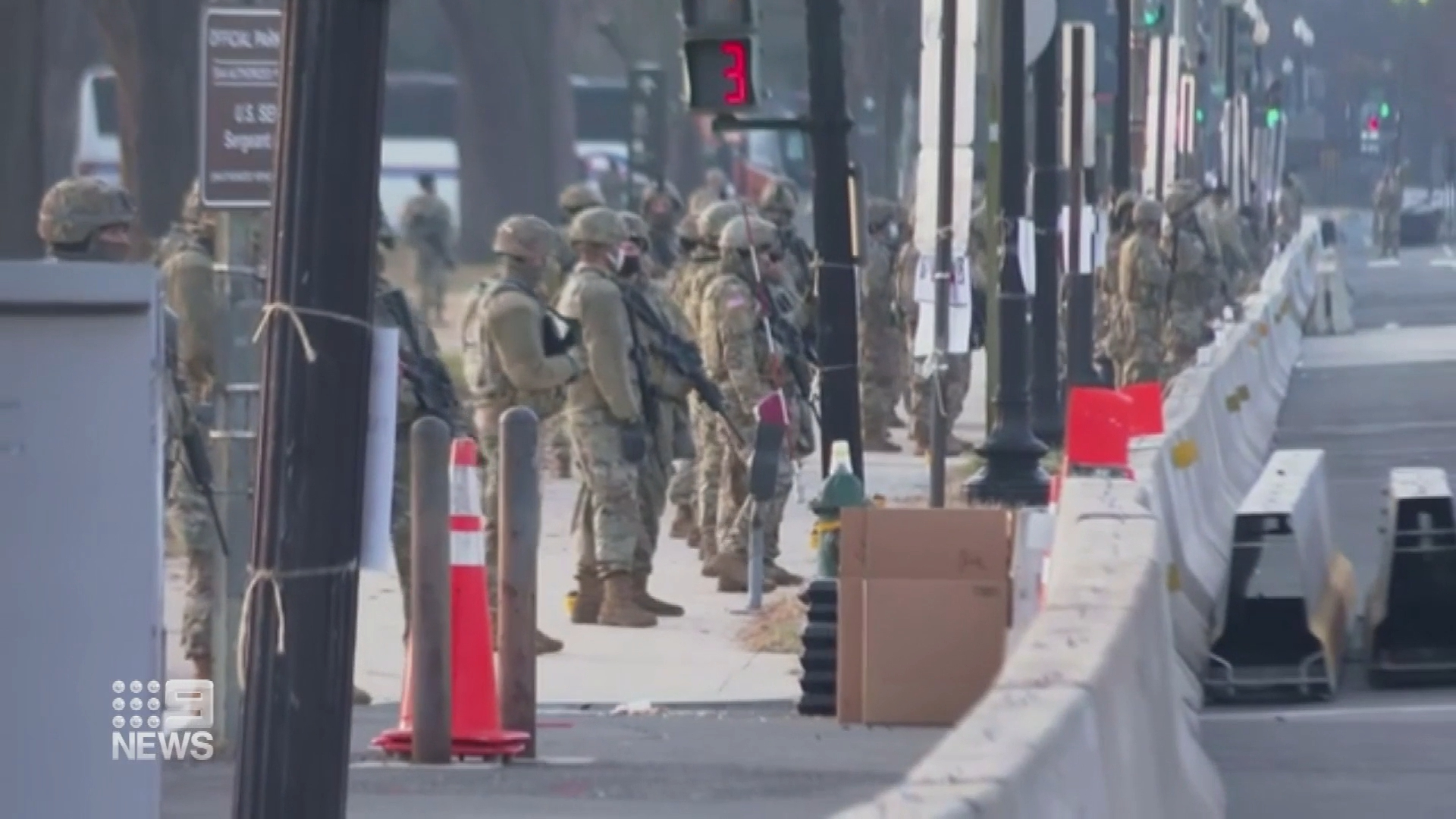 Fears of attack from inside the National Guard at Biden inauguration