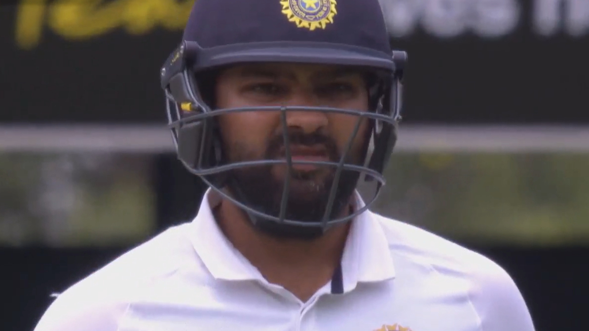 Cummins removes Rohit on day five