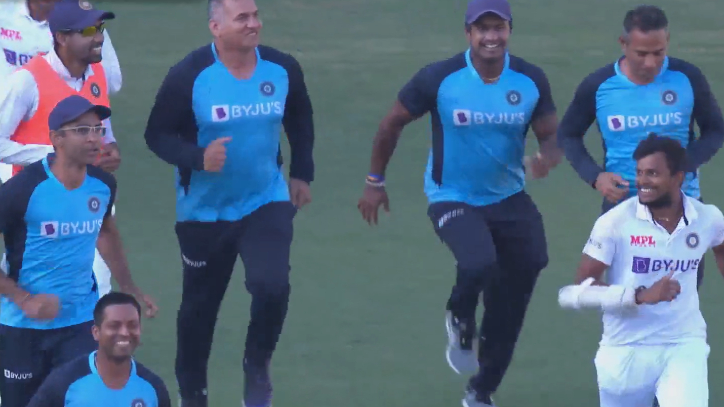 India wins Fourth Test against Australia