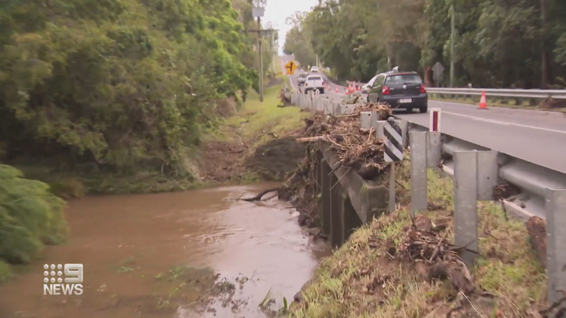 Torrential rain for Queensland's south east