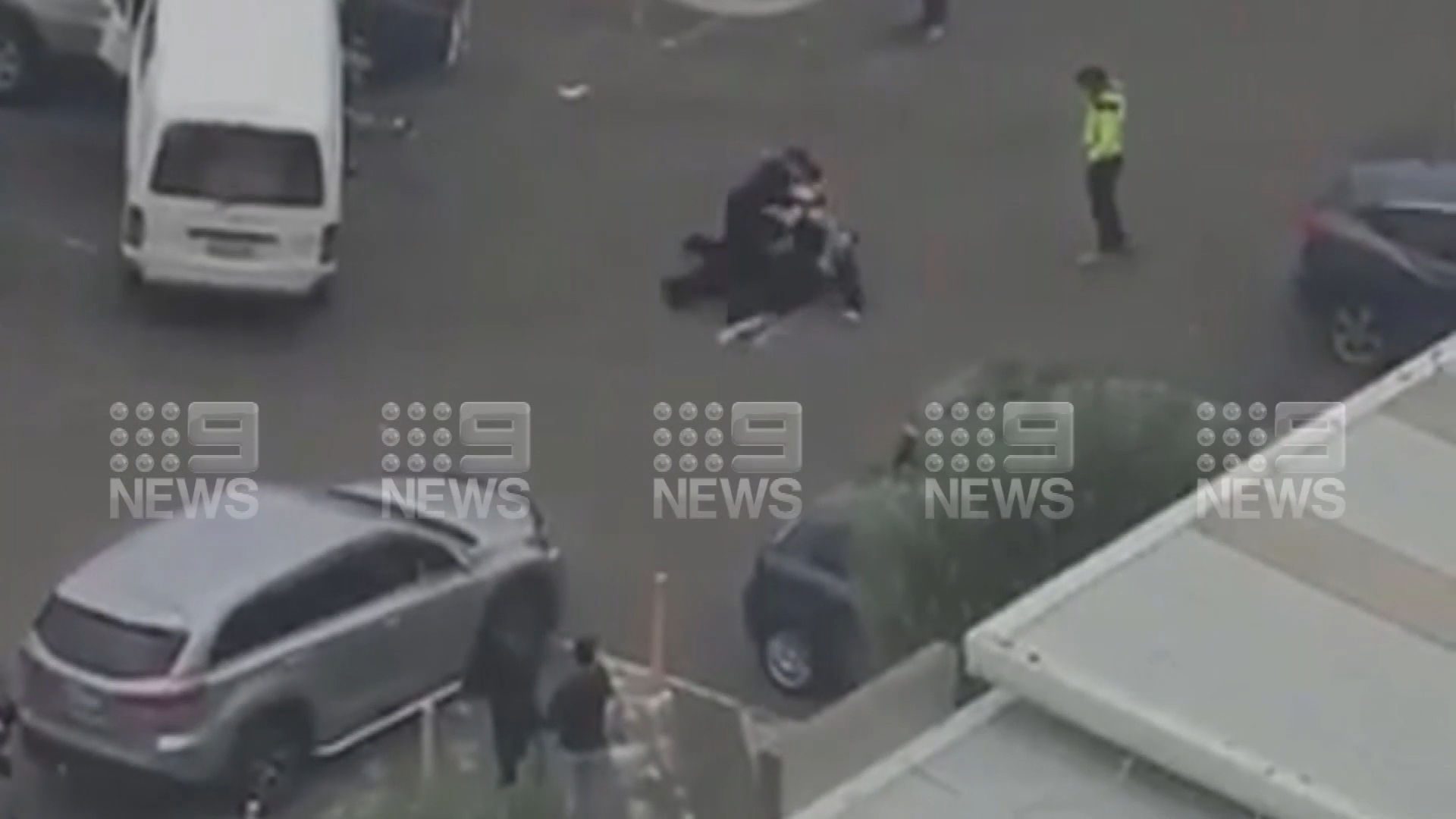 Dramatic arrest after police chase in Bankstown
