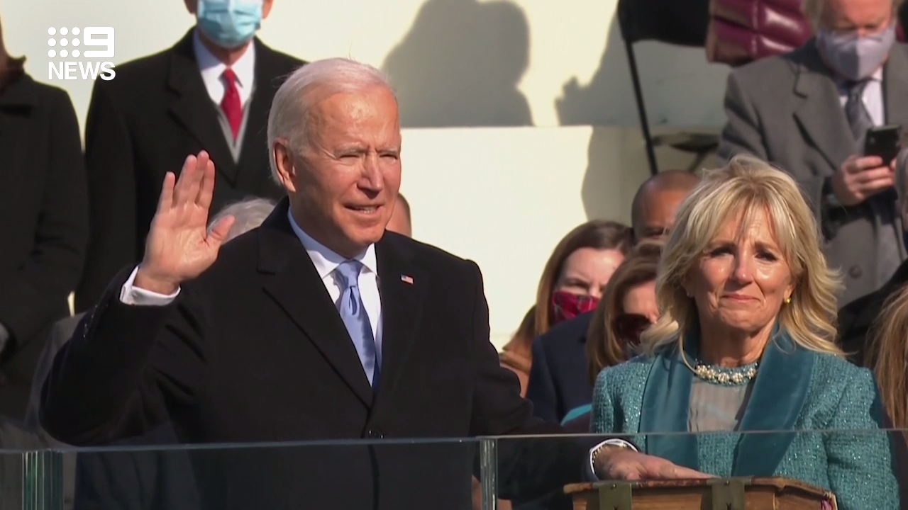 Joe Biden becomes 46th US President
