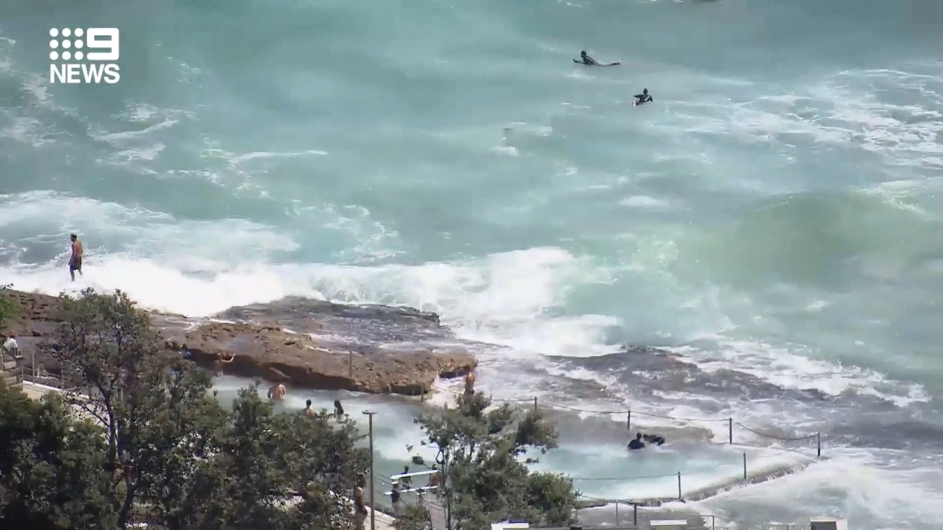 Heavy surf spotted off Sydney beaches