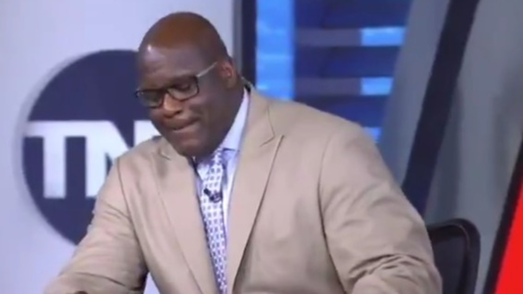 NBA star floored by awkward Shaq question