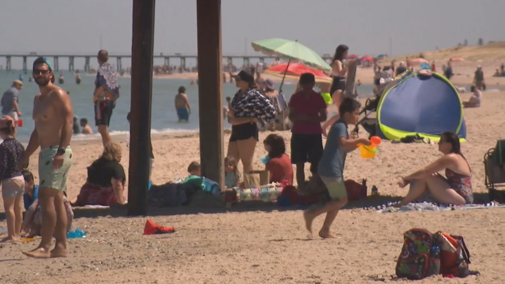SA swelters through heat wave