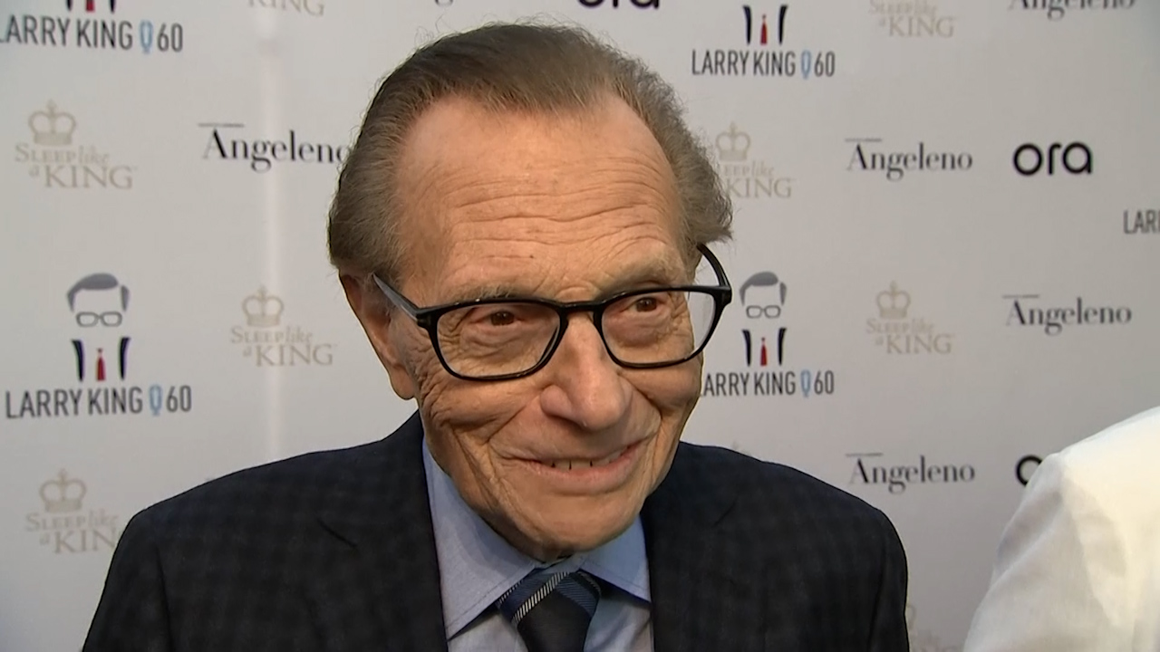 Larry King dead, aged 87