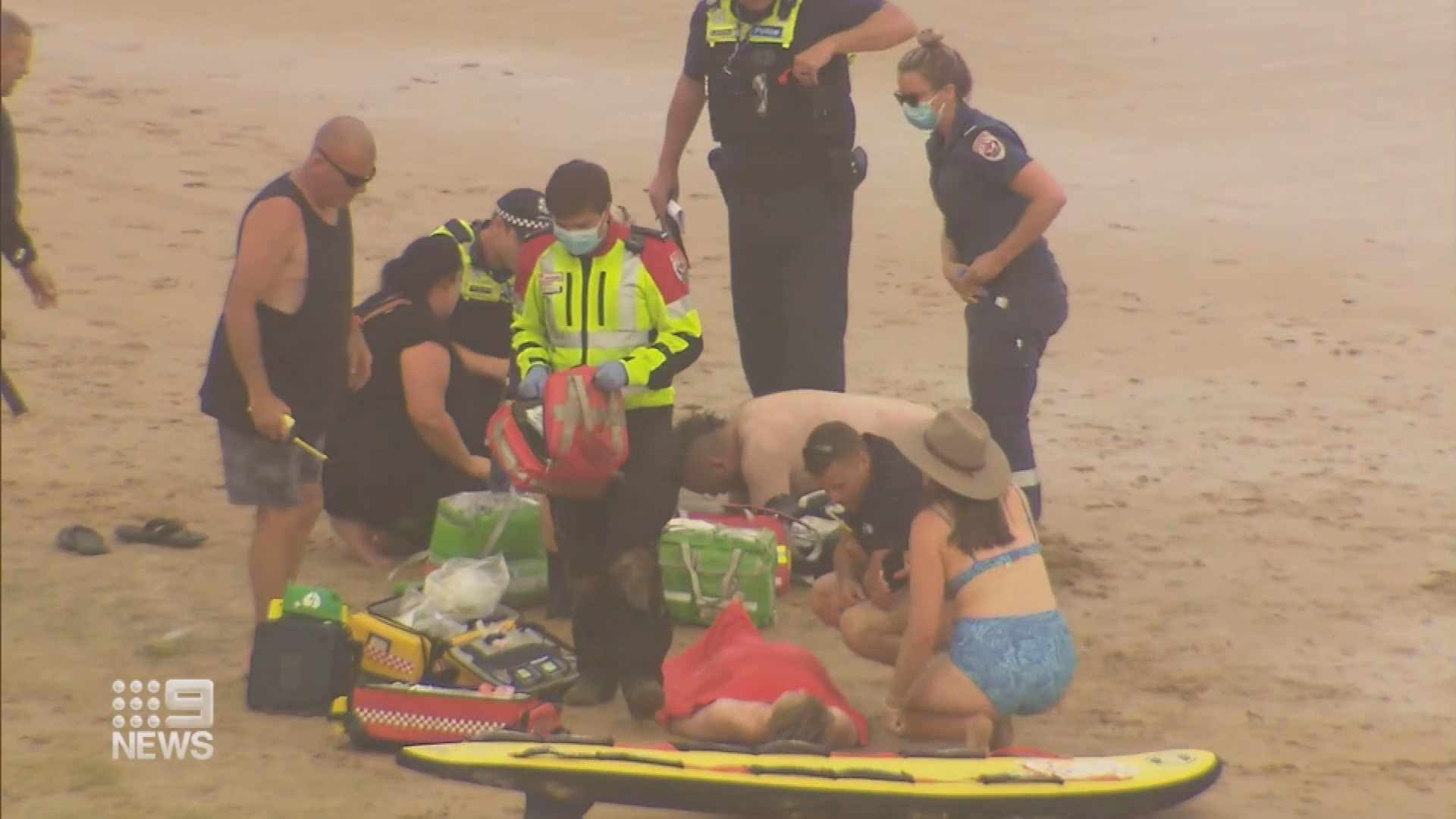 Victorian surfer saves three children and father in two separate rescues