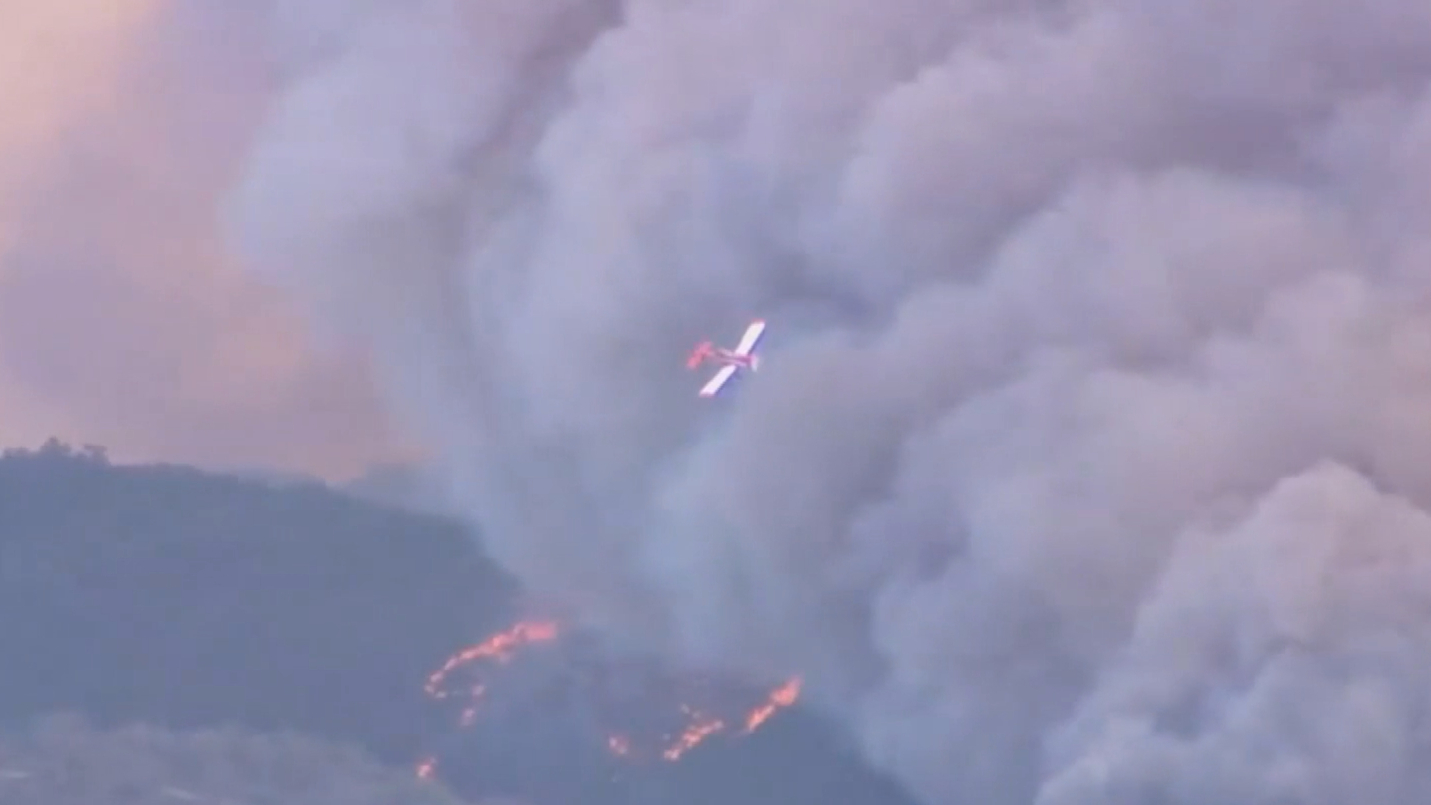 Emergency bushfire warning issued south of Adelaide