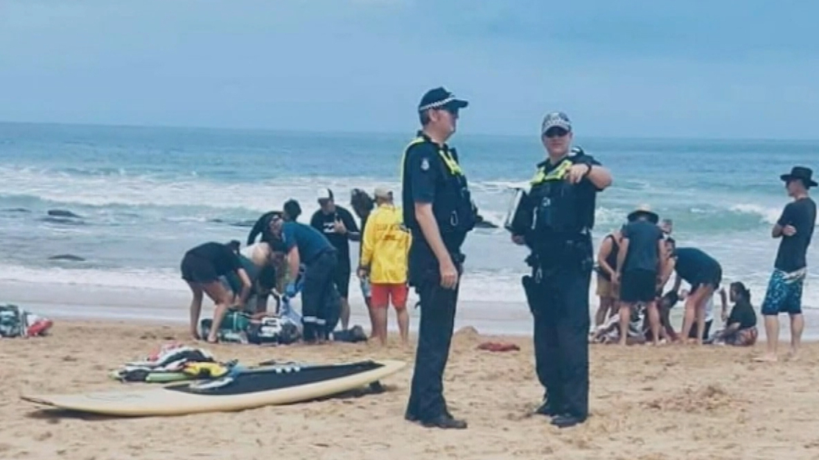 More than 30 people pulled from Victorian waters