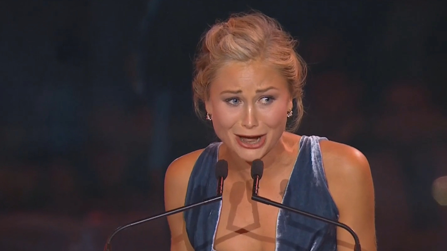 Grace Tame named Australian of the Year