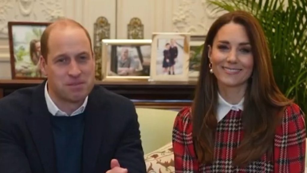 Kate and Wills sweet Burns Night message