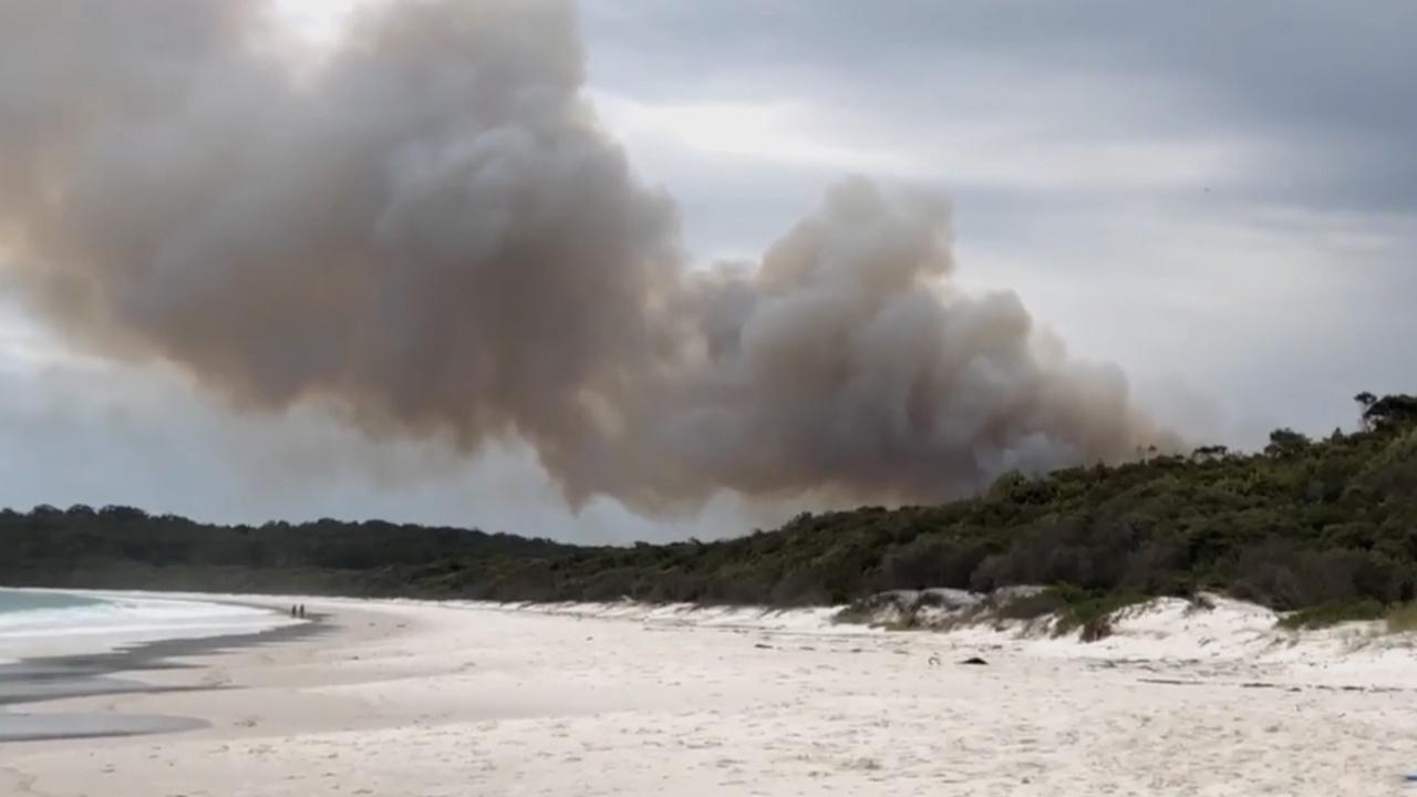 Bushfire breaks out in NSW national park