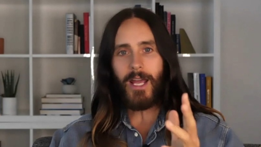 Jared Leto recalls learning about the pandemic after a 12-day meditation