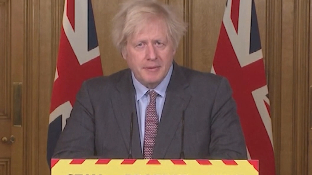 Boris Johnson takes responsibility the UK's COVID-19 tragedy