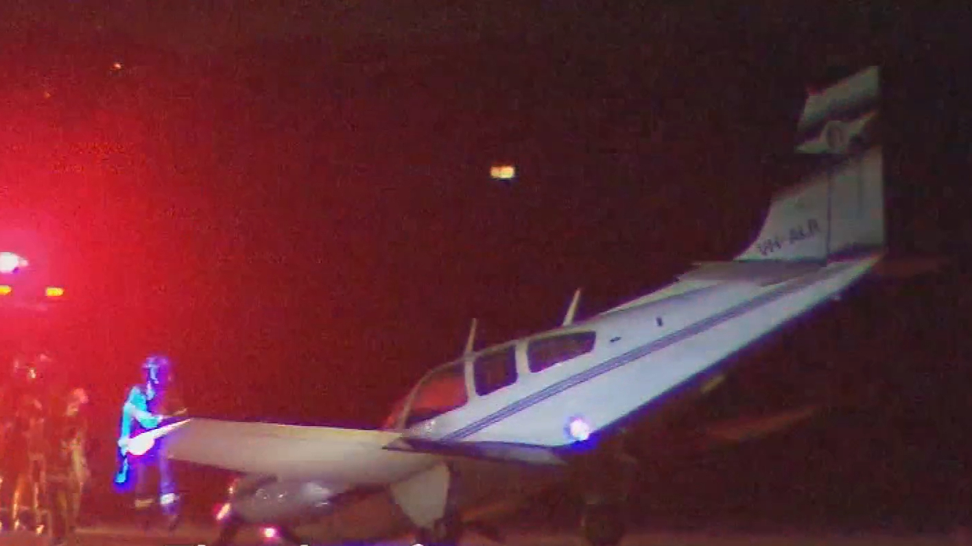 Pilot and passenger narrowly escape plane malfunction in Adelaide