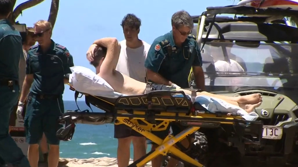 Man in hospital after a near-fatal drowning on Gold Coast