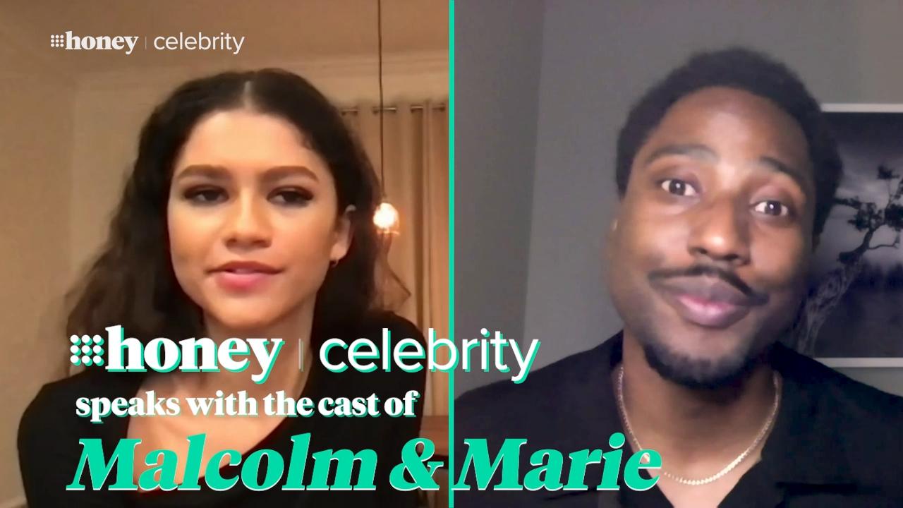 Zendaya and John David Washington open up about new movie Malcolm & Marie