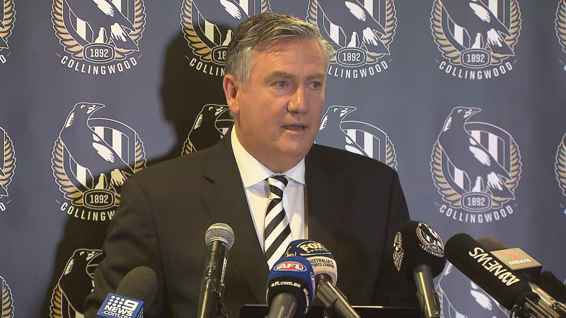 McGuire steps down as Collingwood president
