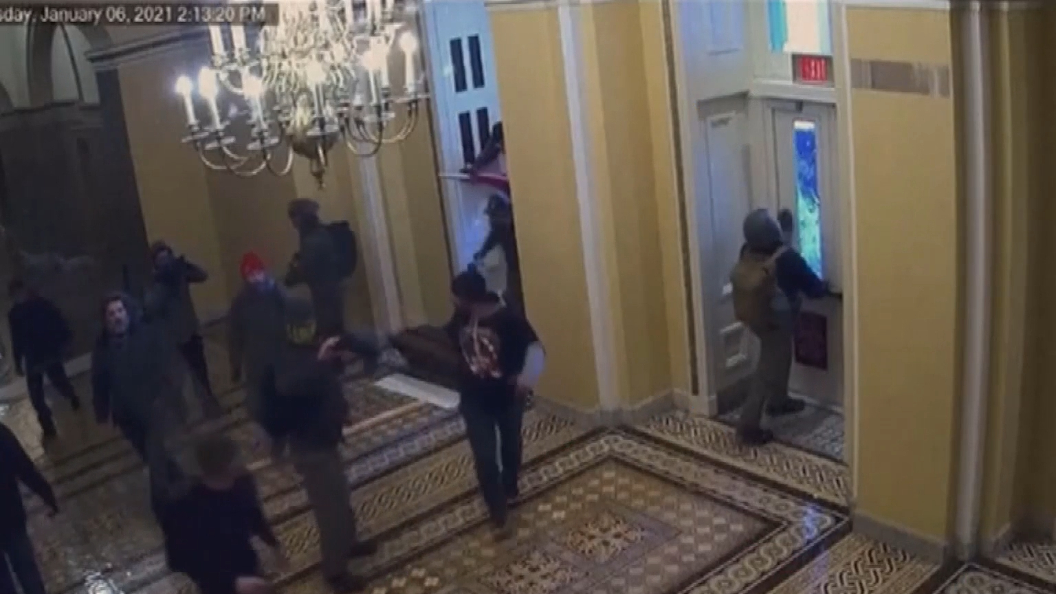 House managers air new violent Capitol security footage