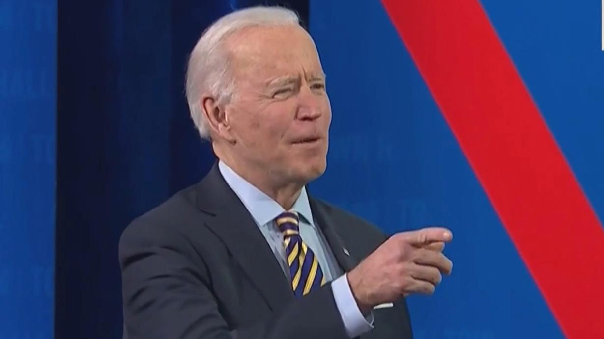 Biden takes first Presidential trip