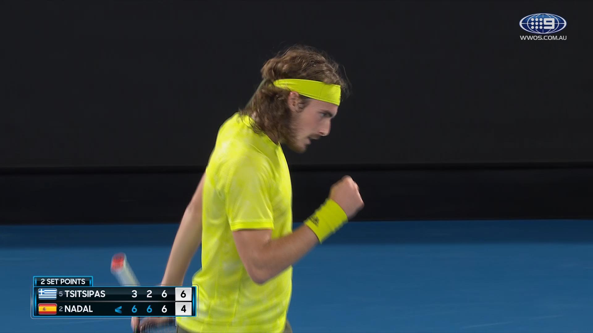 Australian Open: Rafael Nadal v Stefanos Tsitsipas