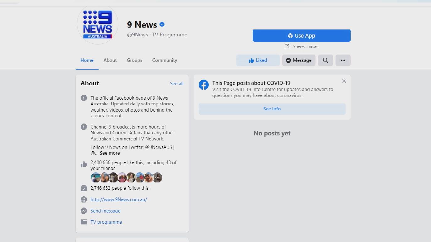 Facebook to ban Australian news content