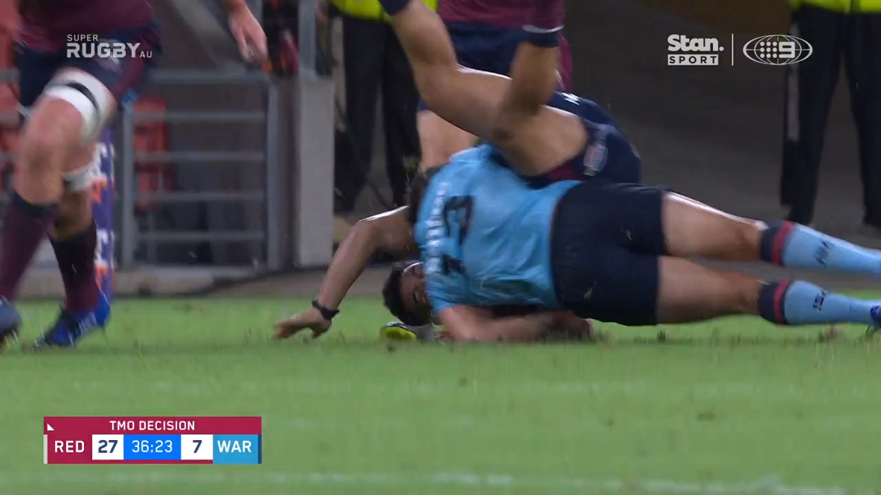 Tahs rocked by red card