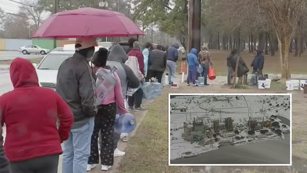 Texas ice storm continues to wreak havoc