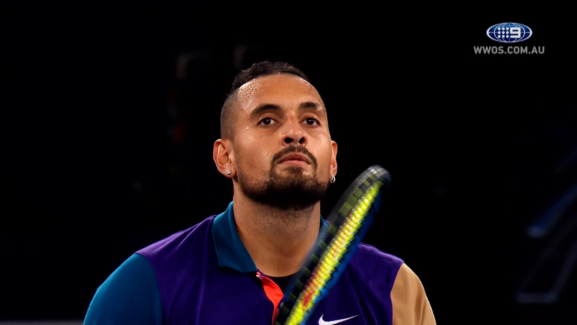 Nick Kyrgios lit up the 2021 Australian Open