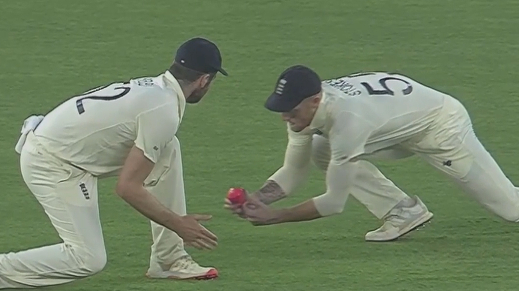 England fume at dropped catch