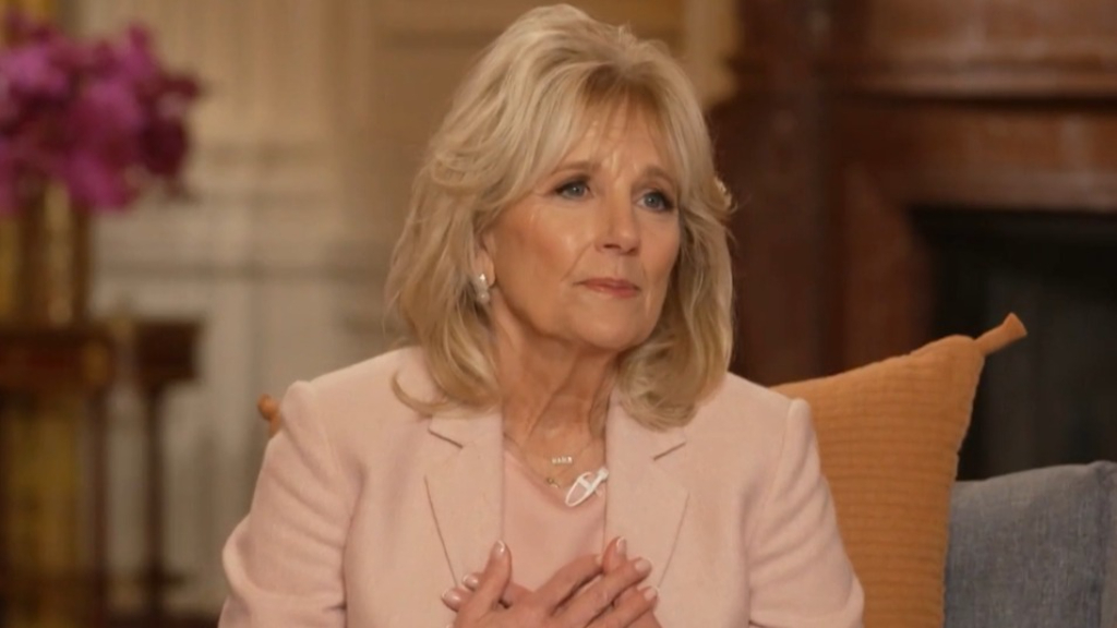Jill Biden shares her advice for 'healing' from divorce