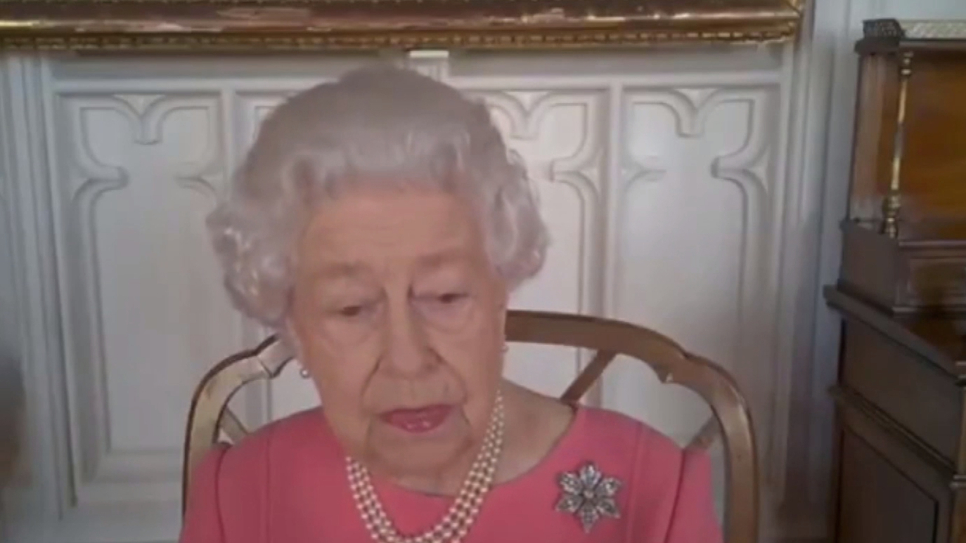 The Queen has publicly encouraged people to get the Covid vaccine