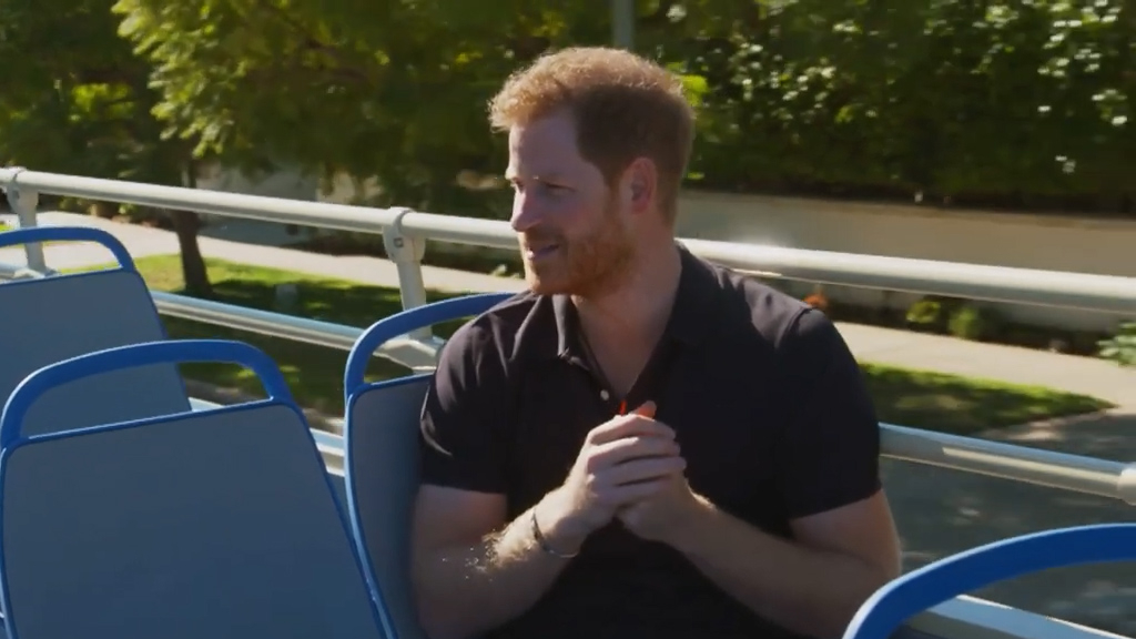 James Corden asks Prince Harry when he knew Meghan Markle was the one