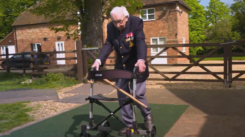 British fundraising hero farewelled