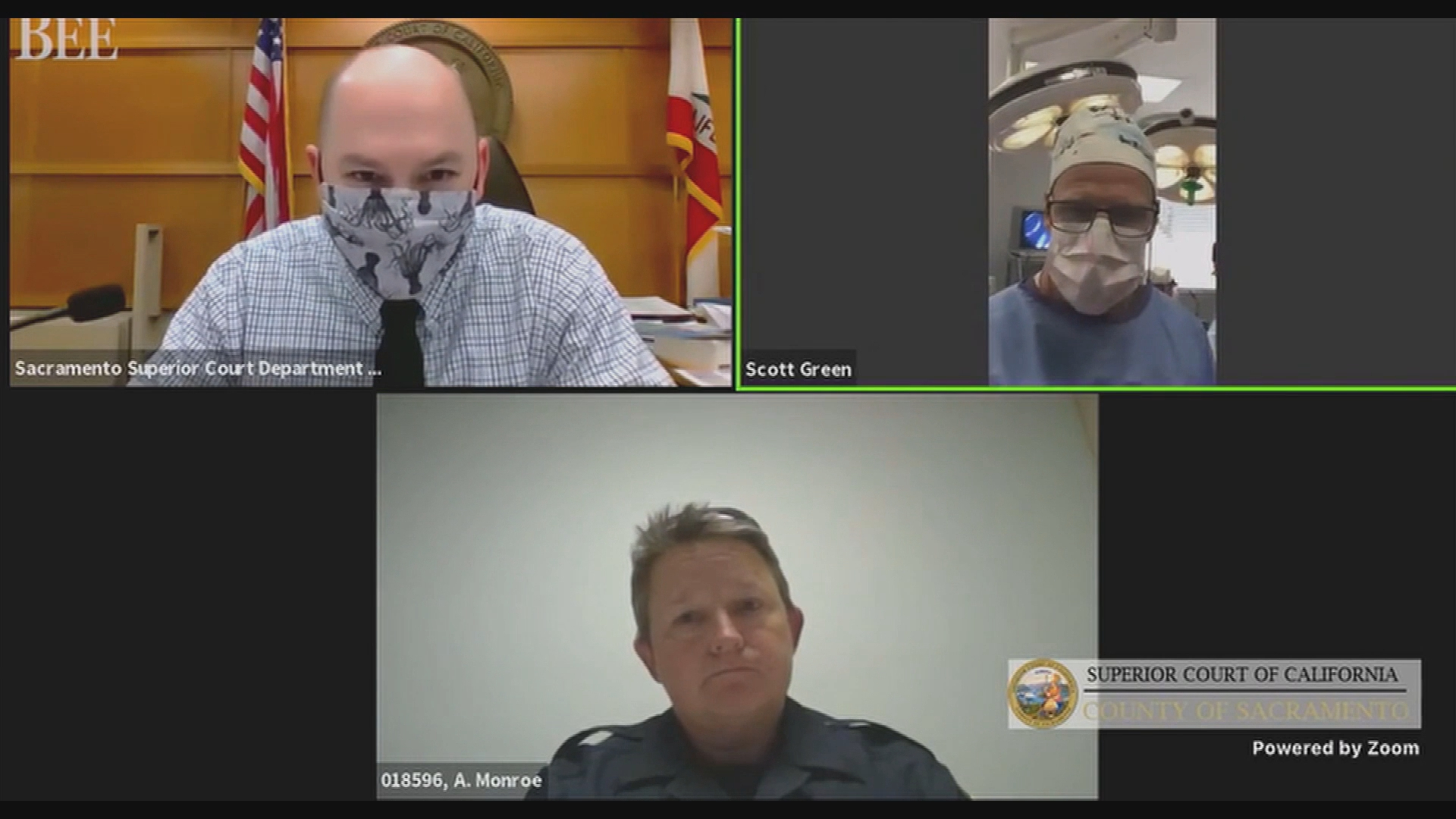 US doctor performs surgery while appearing in court video link
