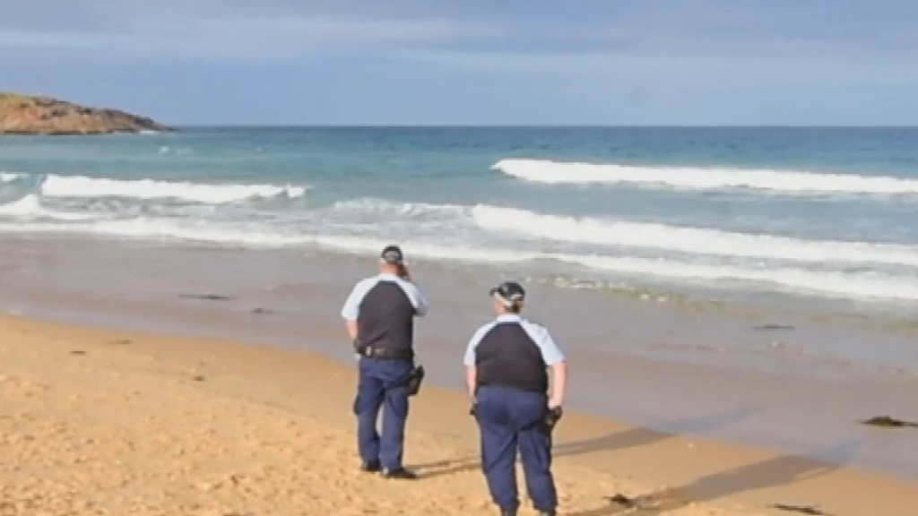 Police search third beach after more remains appear