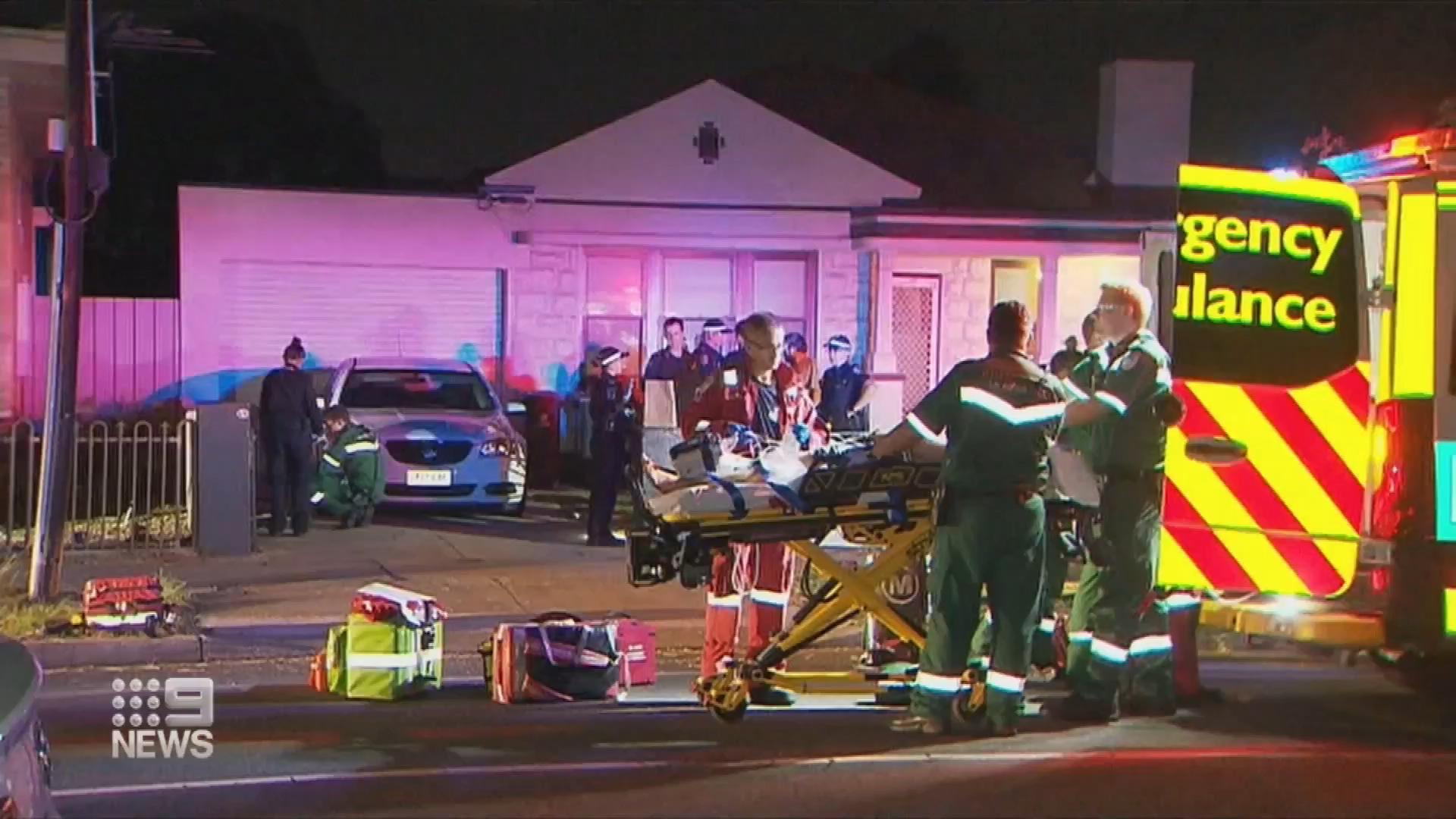 Adelaide brawl leaves two hospitalised