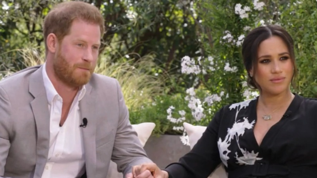 First look at Oprah's interview with Meghan and Harry
