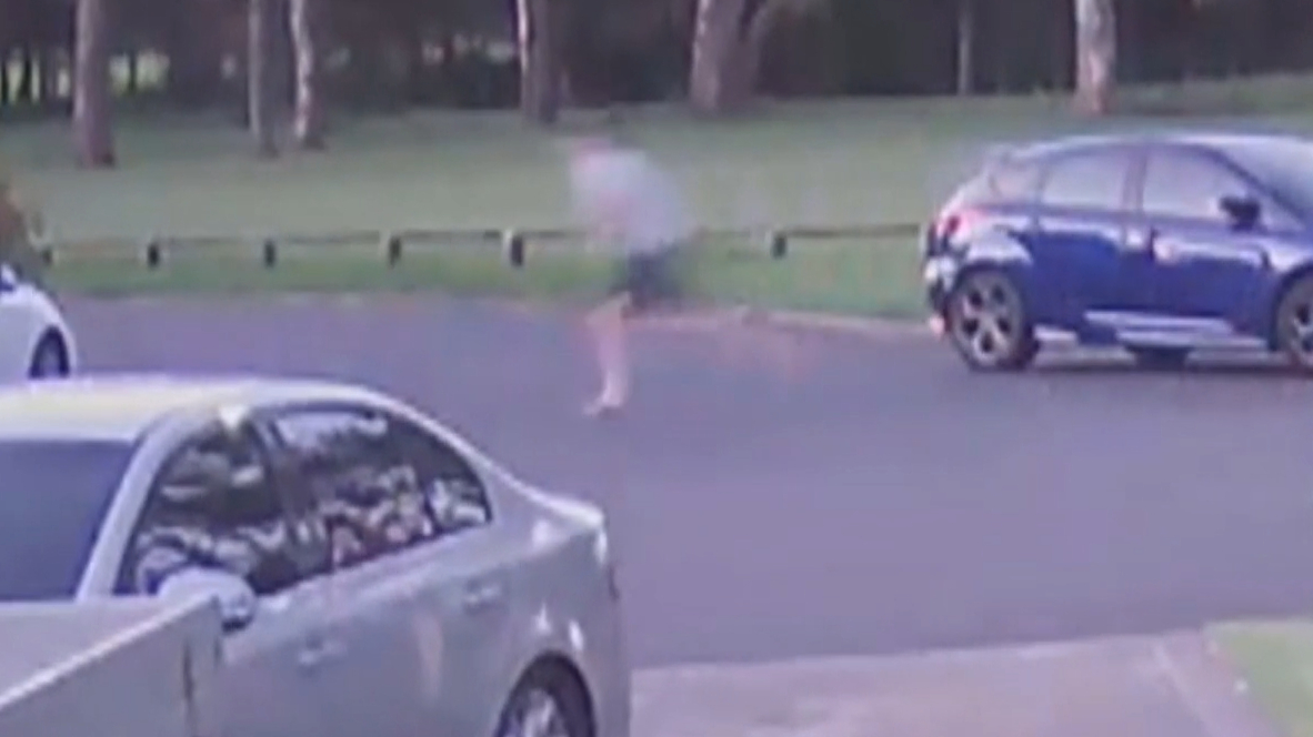 CCTV captures violent attack on woman in Sydney's west