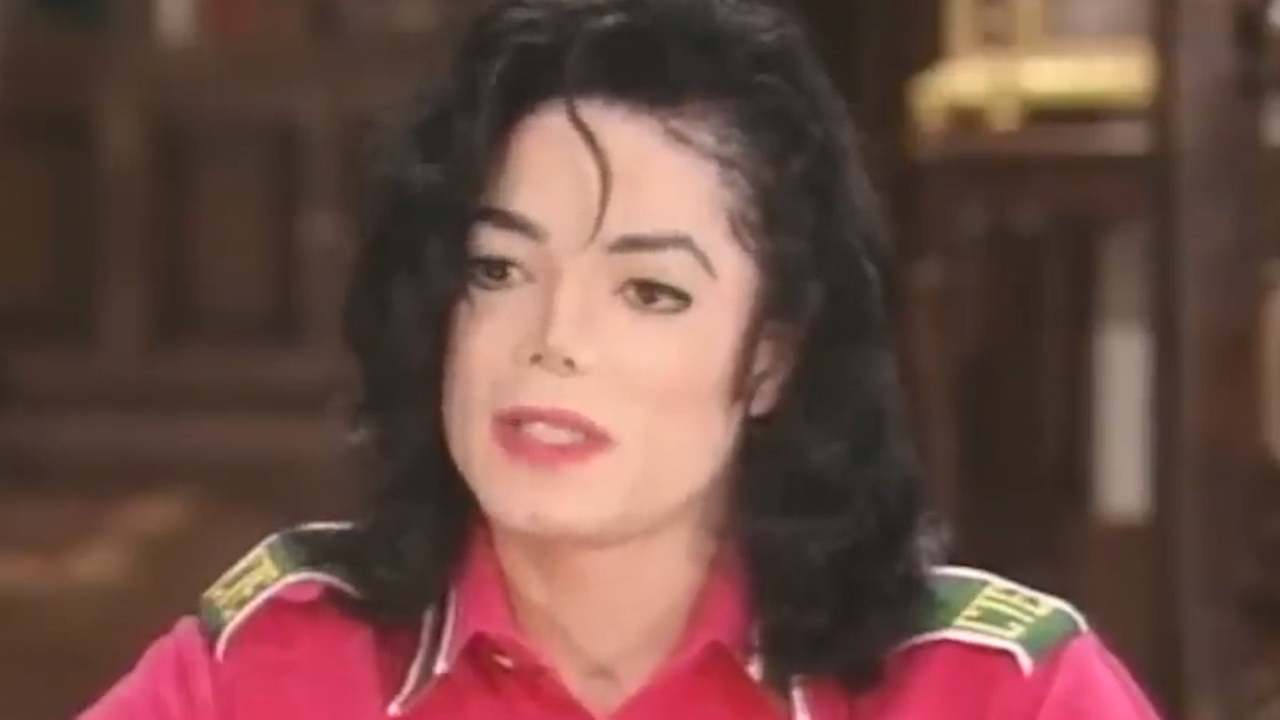 Michael Jackson tells Oprah about his vitiligo