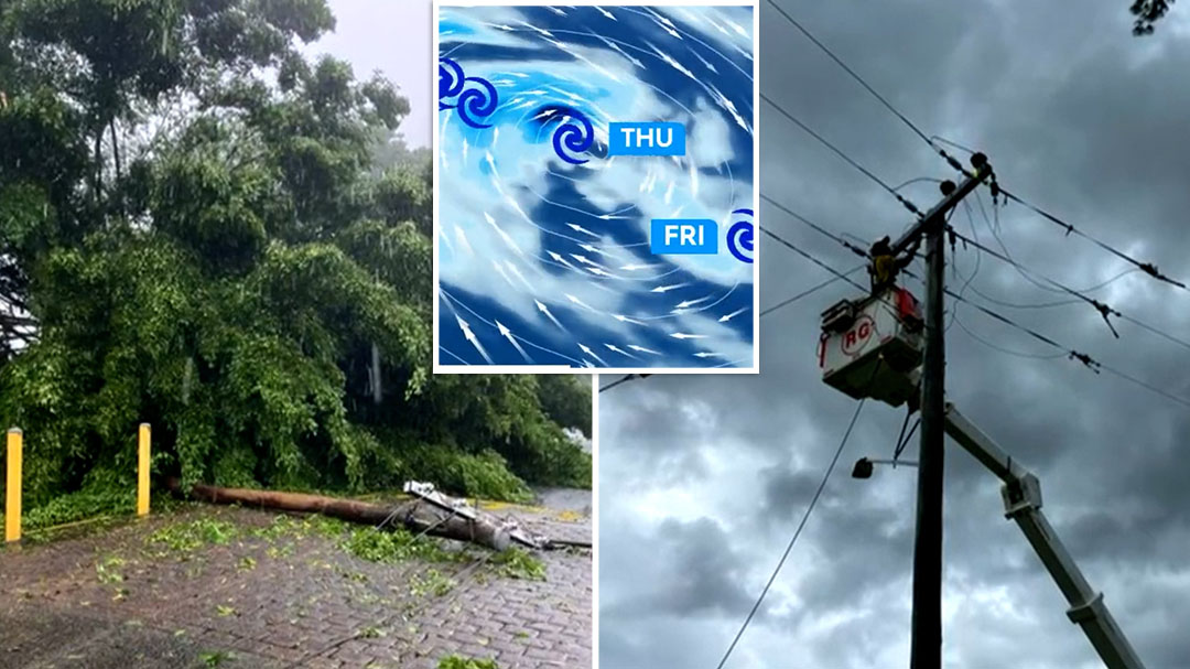 Tropical Cyclone Niran set to bring another day of strong winds and rainfall to Far North Queensland
