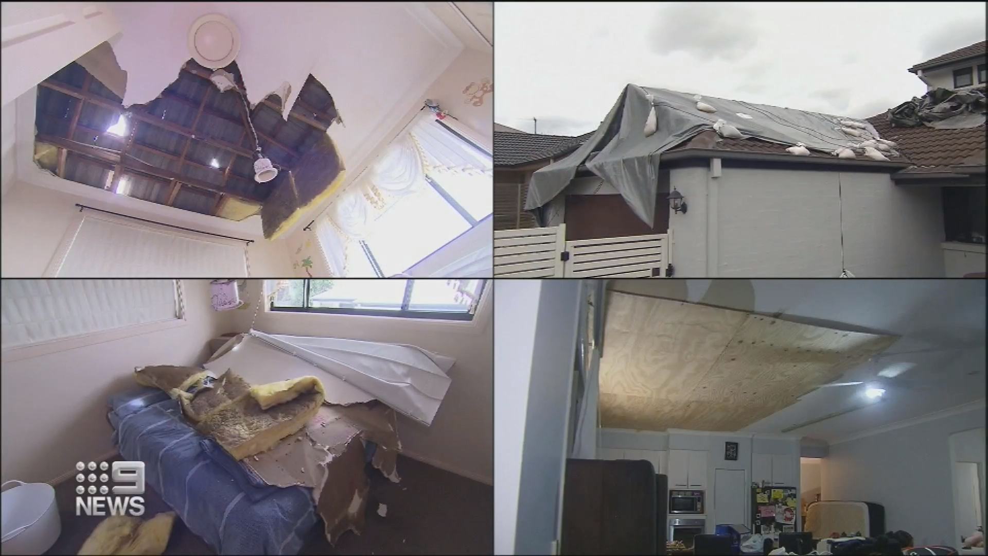 Intense storms leave families with extensive homes damage