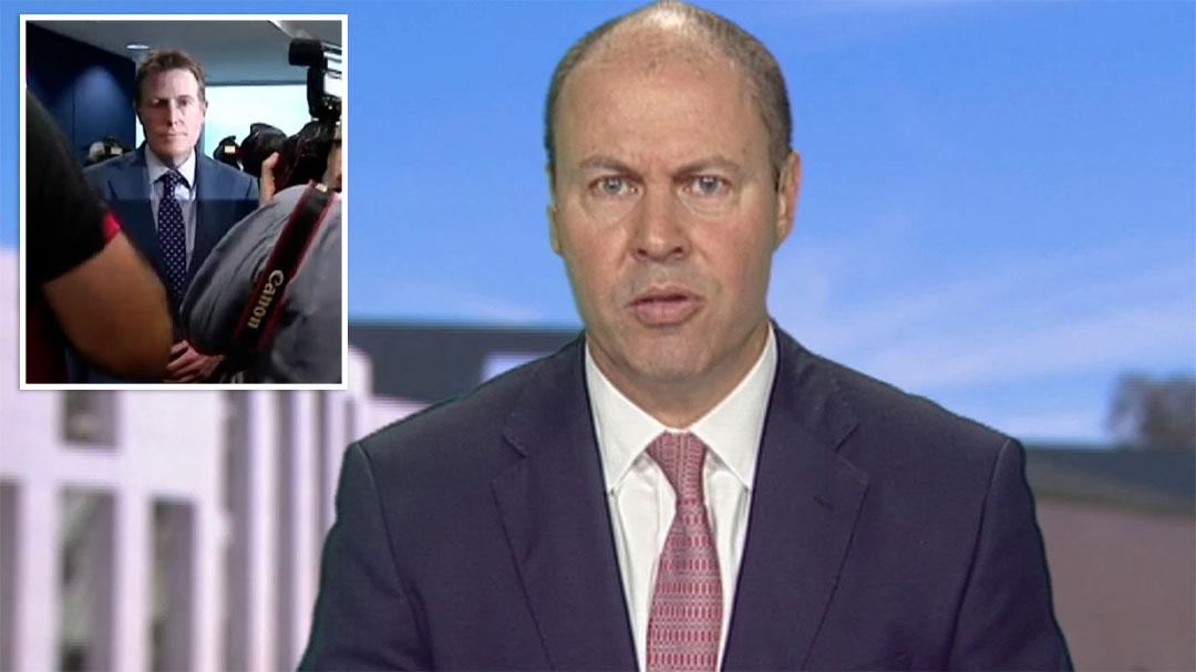 Josh Frydenberg rejects call for independent inquiry into Porter allegations