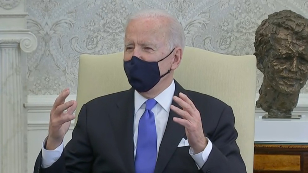 Biden attacks Texas as US state becomes biggest to lift mask mandate