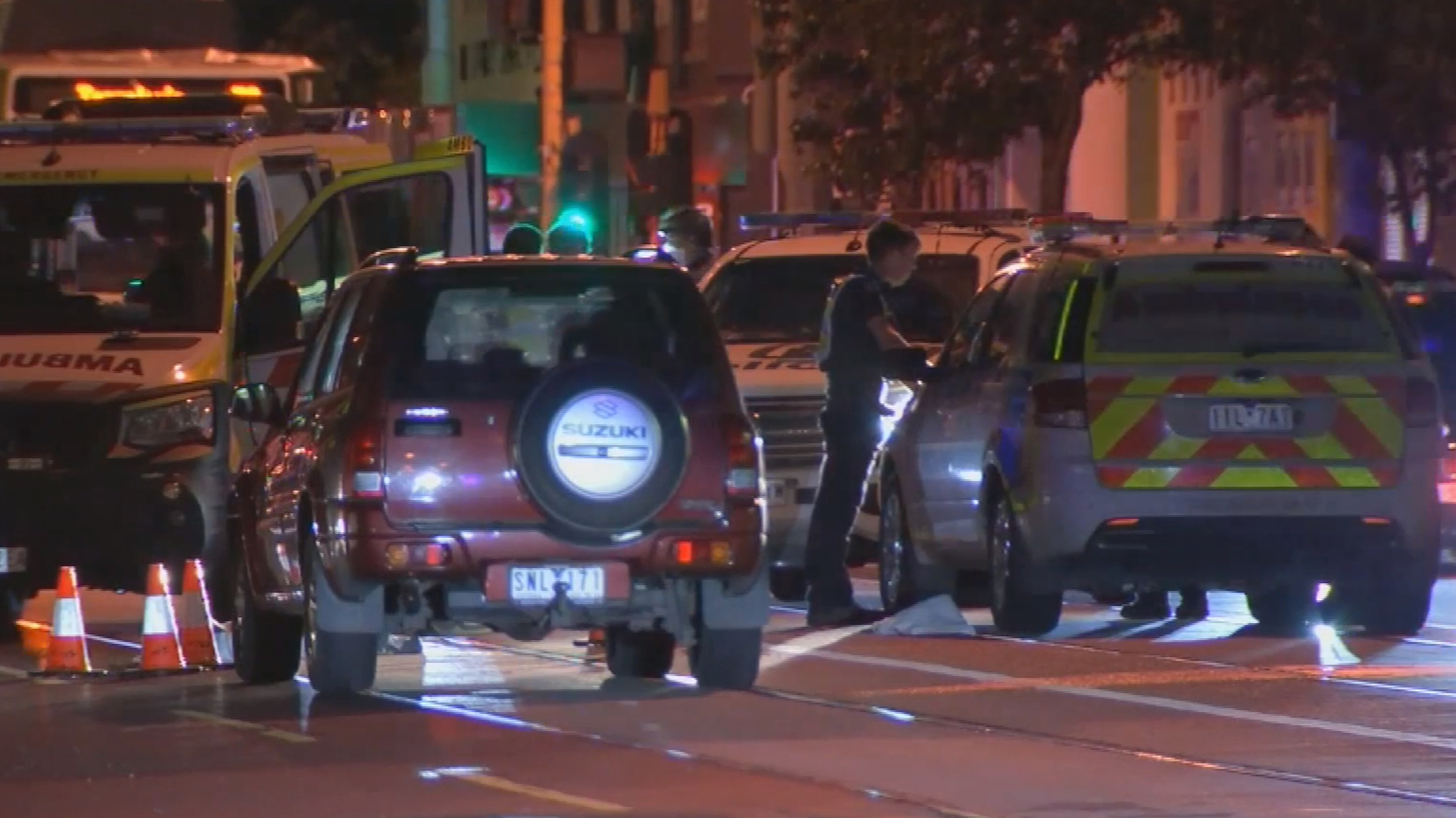 Woman dies after being struck by car in Brunswick West