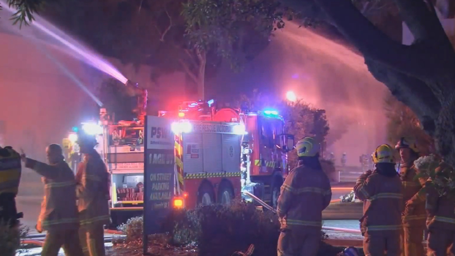 Fire guts furniture and lighting shops