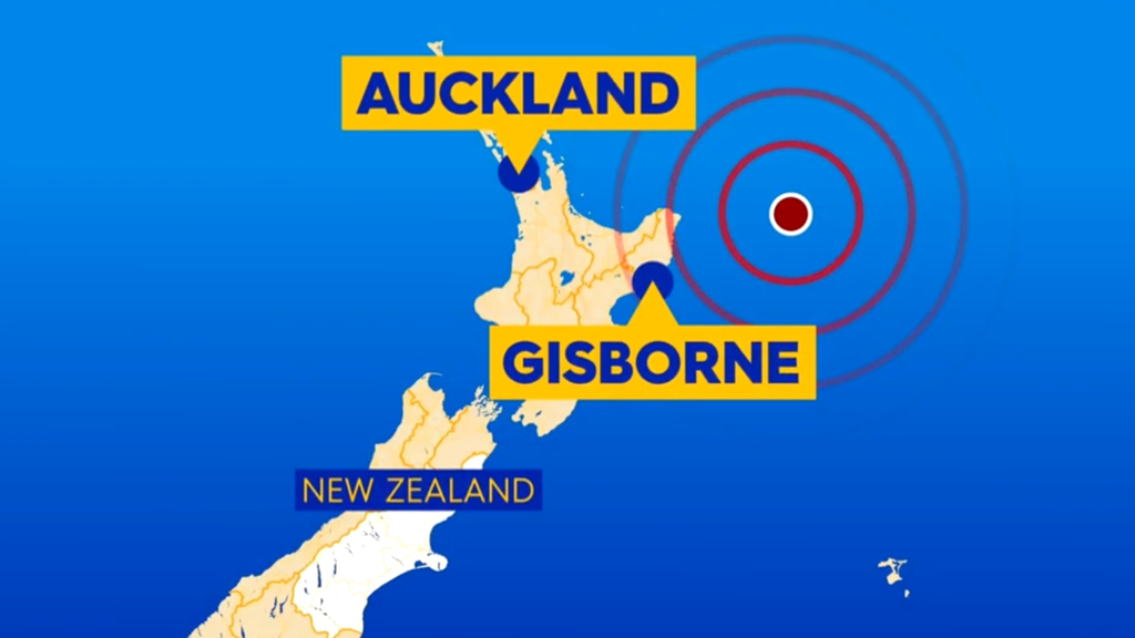 Tsunami warning for Australia following New Zealand earthquake