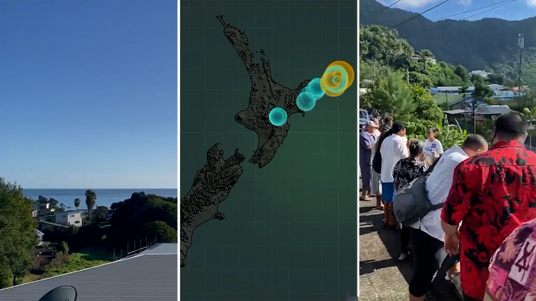 New Zealand hit by three powerful earthquakes