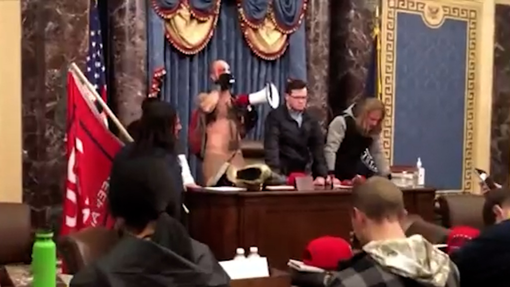 Ex-Trump appointee charged over Capitol riot